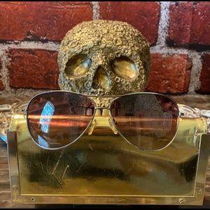 TORY BURCH Hologram Logo Sunglasses